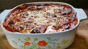 Lazy Lasagna RUstic Pan