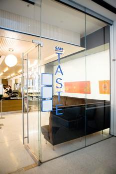 TASTE Restaurant at SAM Museum Entrance