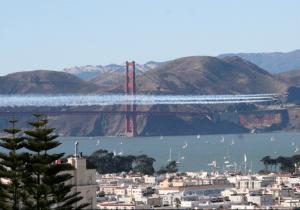 Blue Angels Soar Over San Francisco For Fleetweek