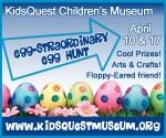 Easter Egg Hunt @ KidsQuest Children's Museum