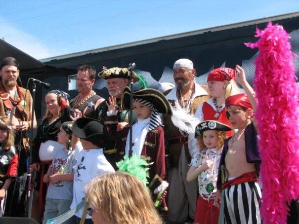 Seafair Pirates Landing