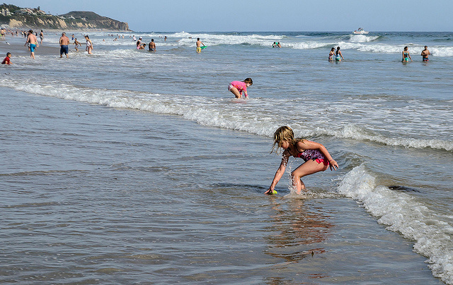 Head to one of LA's kid friendly beaches