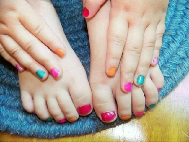 Get pampered at the nail salon