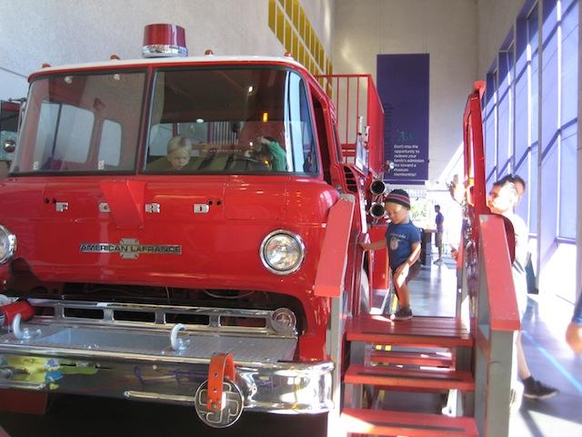 fire truck at cdm san jose