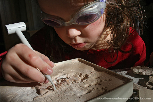 fossil girl
