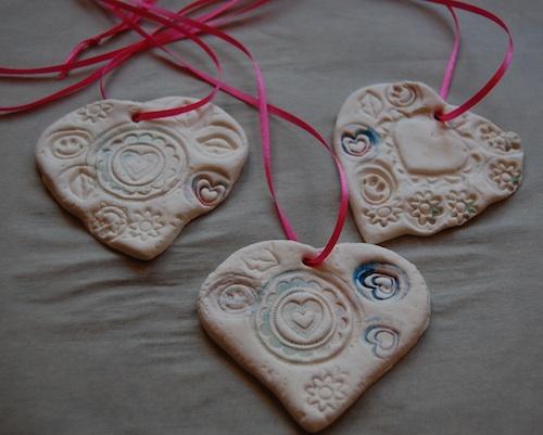 Clay Heart Pendant