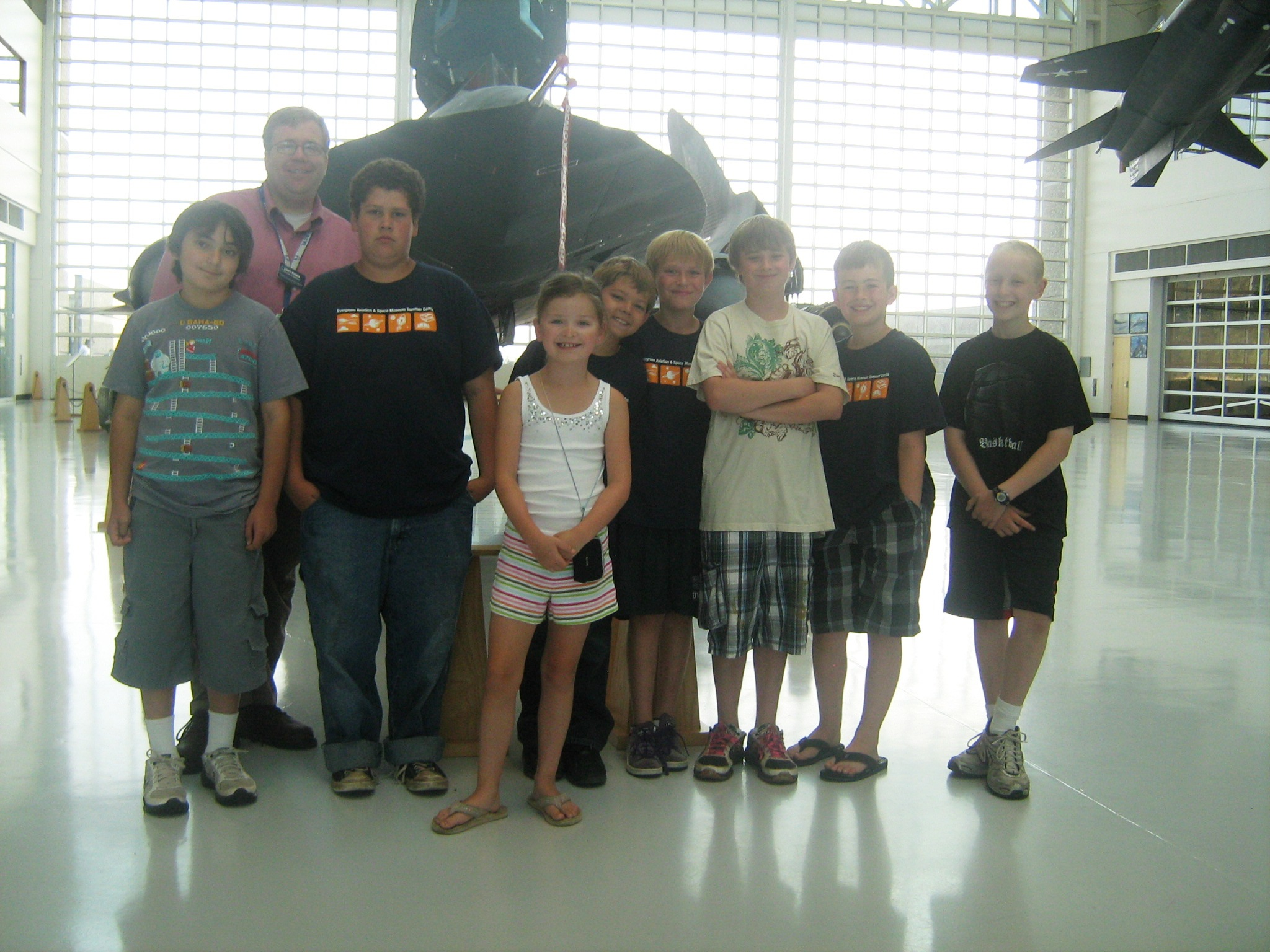 Summer Camps at Evergreen Aviation & Space Museum and Wings & Waves Waterpark