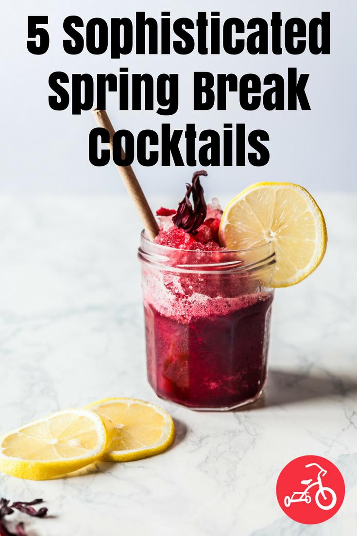 spring break cocktails