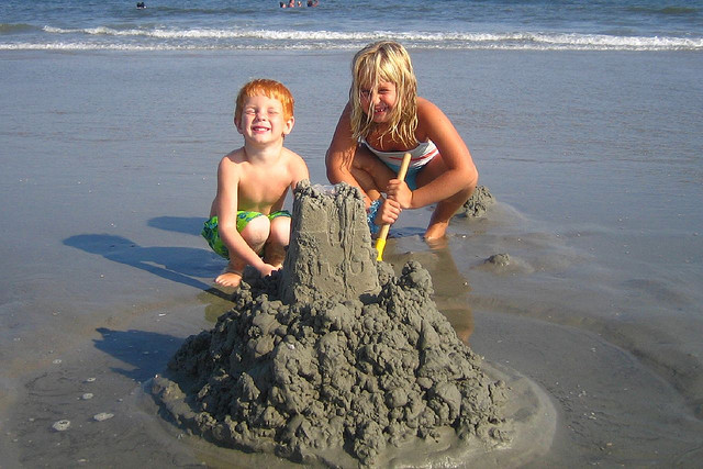 sand castle kids