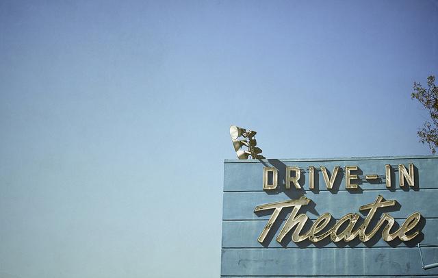 Santa Fe Springs, CA drive in theater