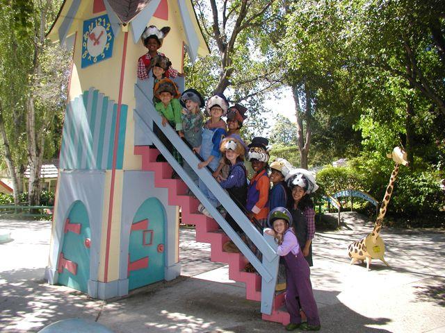 Kids on Brer Clock Fairyland