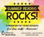 Summer Reading Rocks! At University Book Store