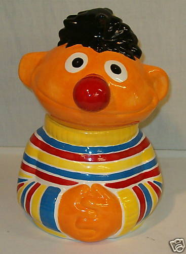 Ernie-cookie-jar