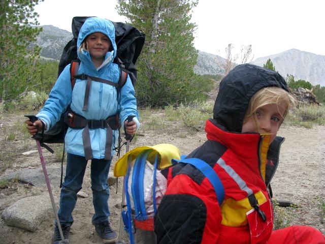 kids hiking