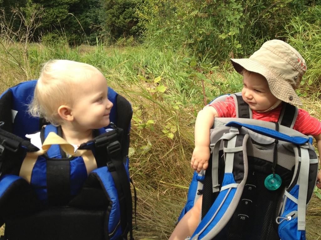 Hiking babies