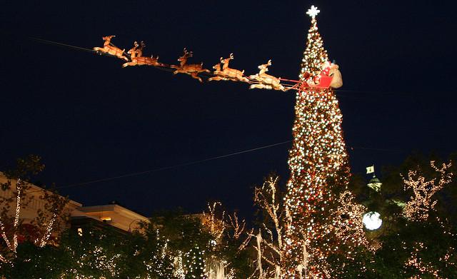 Grove Christmas Tree Lighting 2021 The Grove S Christmas Tree Lighting Red Tricycle