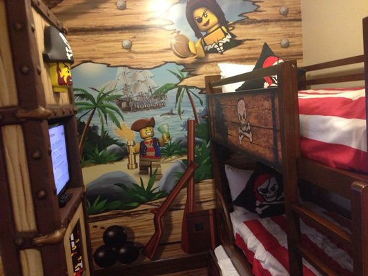 Pirate Room at LEGOLAND - Carlsbad, Ca