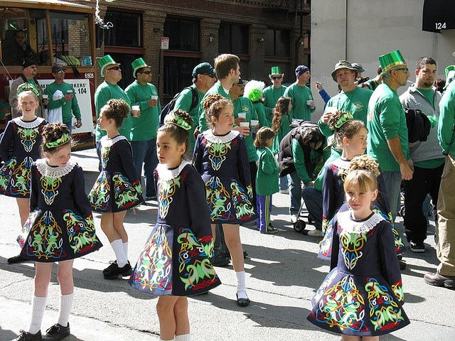 Irish parade dancers steven damron flickr