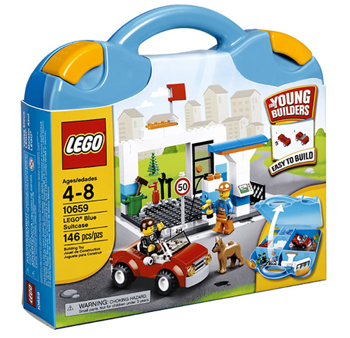 Lego bricks and more suitcase