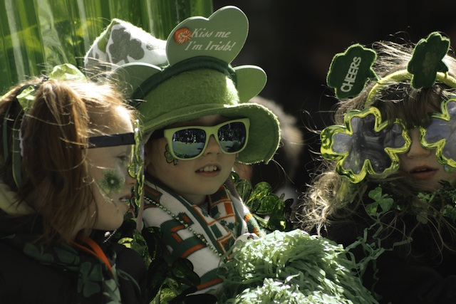 St Patricks Day Parade Kids_via flickr creative commons jmpminmontreal