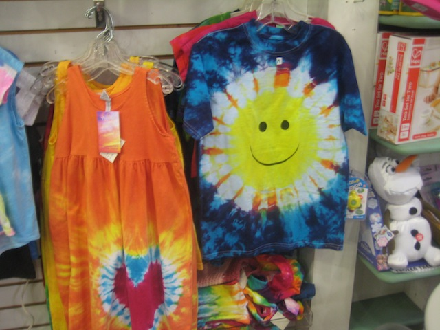 tie dye kids clothes