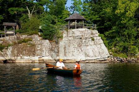 boating mohonk mountain house