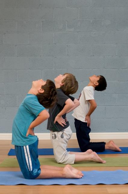 Kids Yoga Party Boys