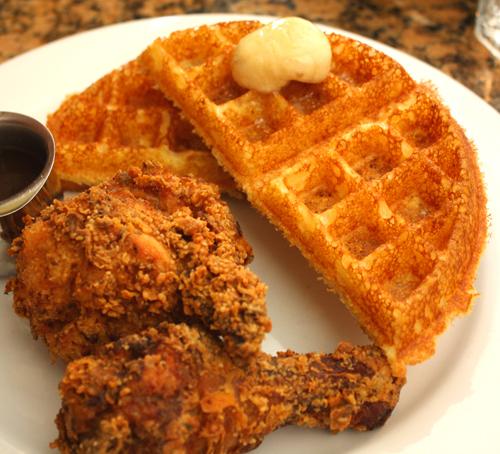 Brown Sugar Chicken and Waffles