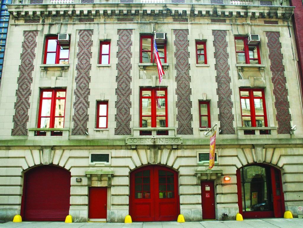 Fire Museum Entrance