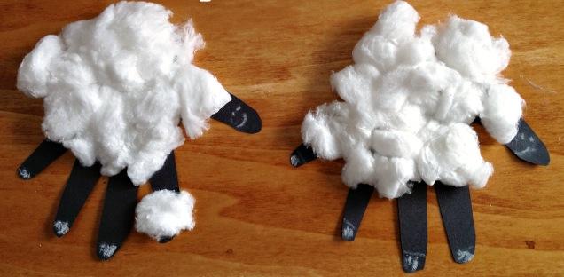 handprint lambs