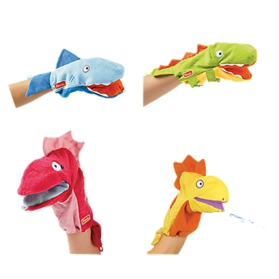 Kids Silly Squirty Bath Puppet
