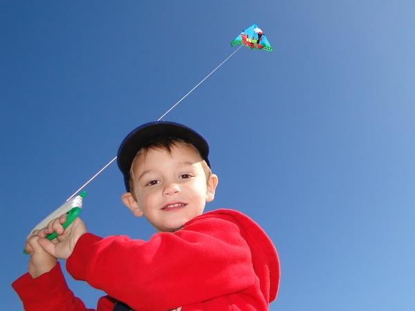 LC kite fest boy