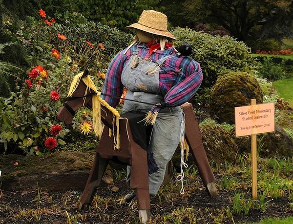 Oregon garden scarecrow OG