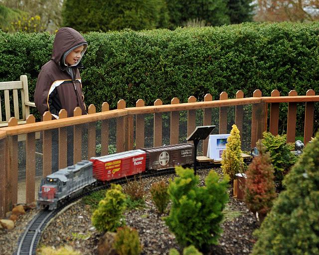 oregon garden train