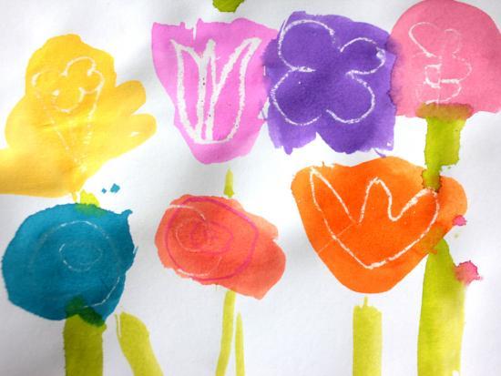 printed-flowers