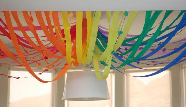 rainbow ceiling