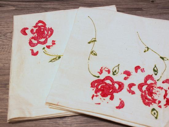 rose-printed-napkins