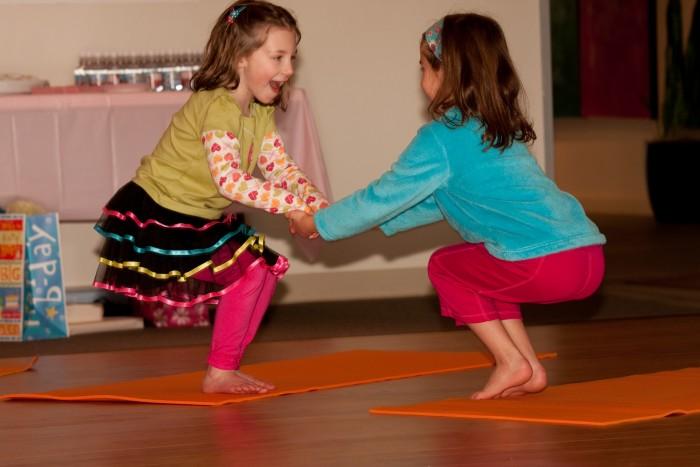 Yoga Girls Birthday Party