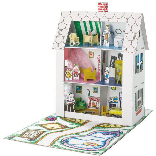 cardboard-dollhouse