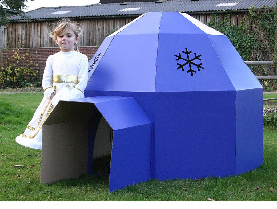 cardboard-igloo
