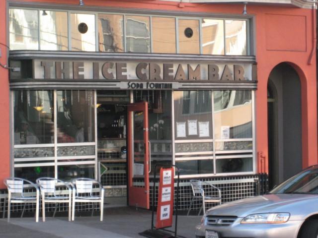Ice Cream Bar Cole Valley