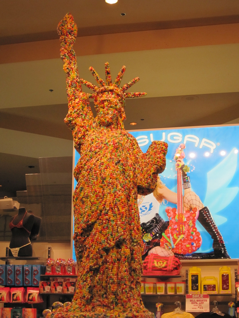 jelly beans-Statue of Liberty-NY