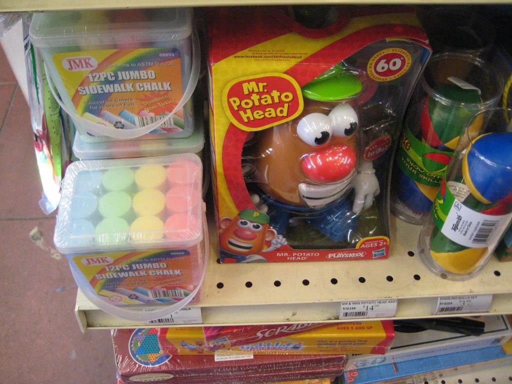 Mr. Potato Head Cole Hardware
