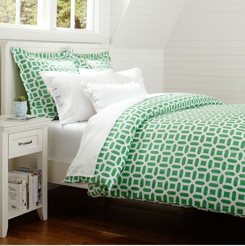 NATIONAL-Emerald-Green-Photos-Peyton-Bedding-Pottery-Barn-Teen