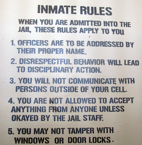 police-museum-rules