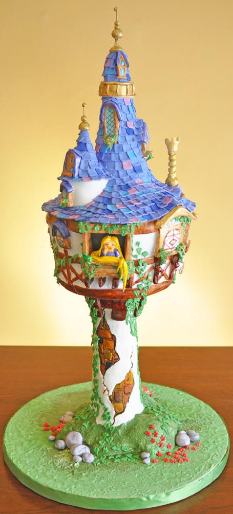 Rapunzel+Tangled+Cake