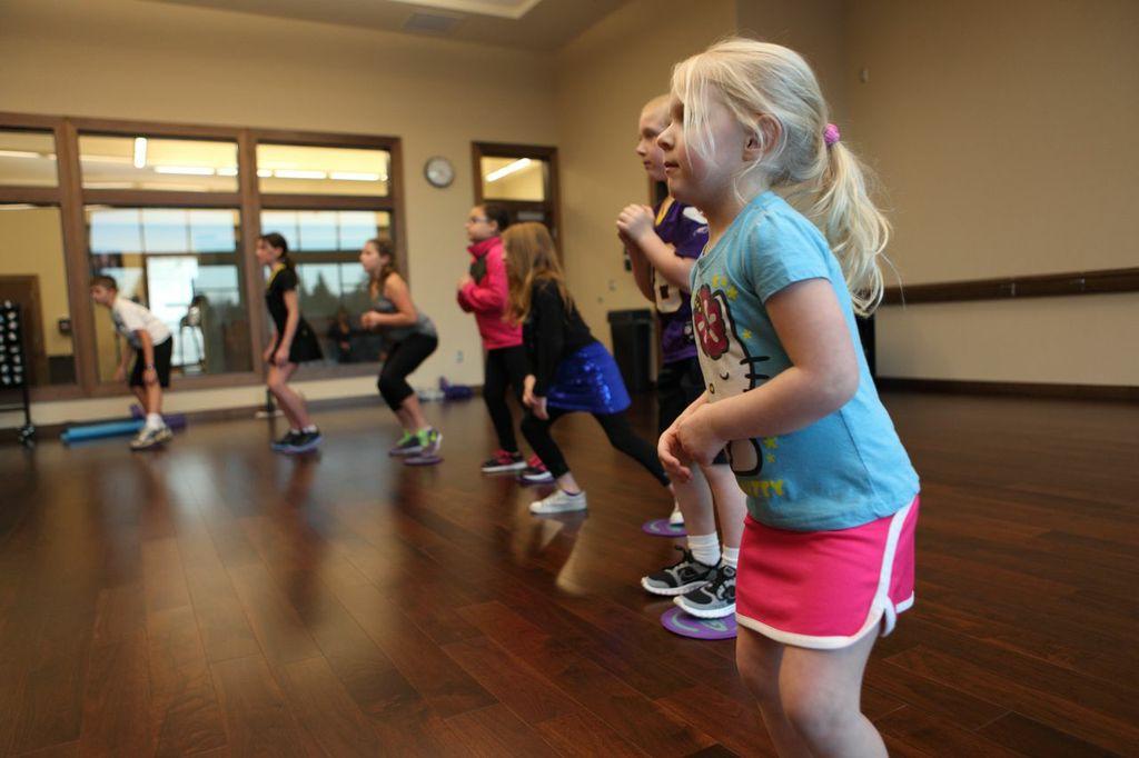 red tri SJH kid fitness classes