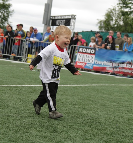 BtB Diaper Derby toddler running
