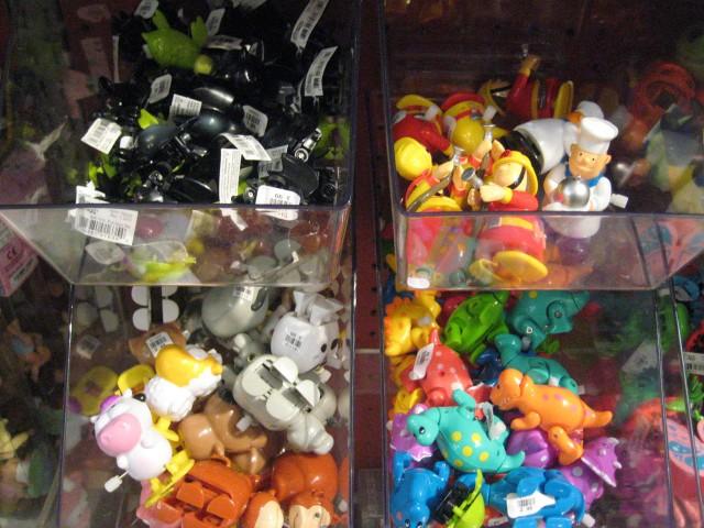 Close Up Toys Bins