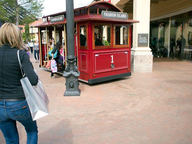 fashion island trolley